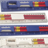 5 Piece Ruler Set  - Image 3