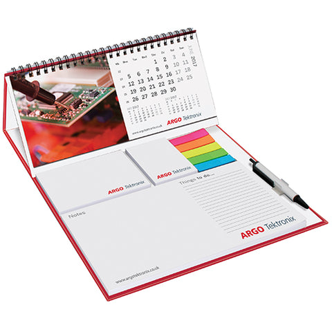 Wiro Calendar and Sticky Note Set Deluxe