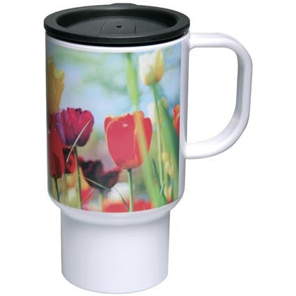 Acrylic Travel Mugs Sample - Adband