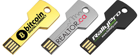 Key Shaped USB Flashdrives