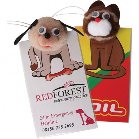 Animal Logobug Air Fresheners Sample - Adband