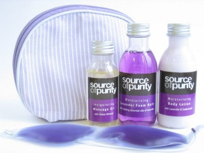 Aromatherapy Bath Sets Sample - Adband