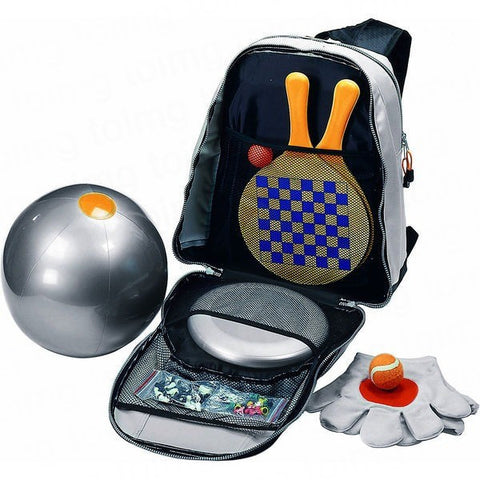 Backpack with Beach Games Sample - Adband