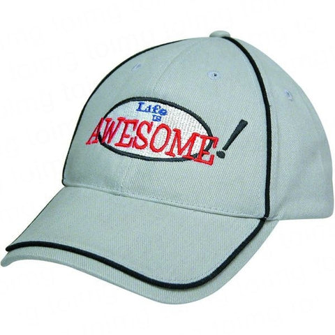 Baseball Cap with Piping - Adband