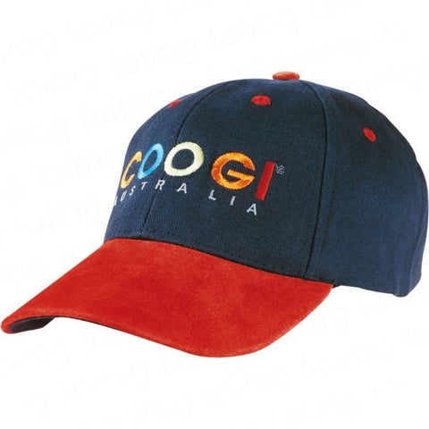 Baseball Cap with Suede Peak Sample - Adband