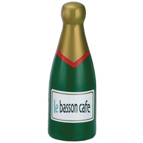 champagne bottle stress toys | Adband