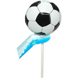 chocolate football lollipop | Adband