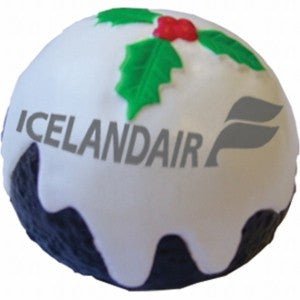 christmas pudding stress toy | Adband
