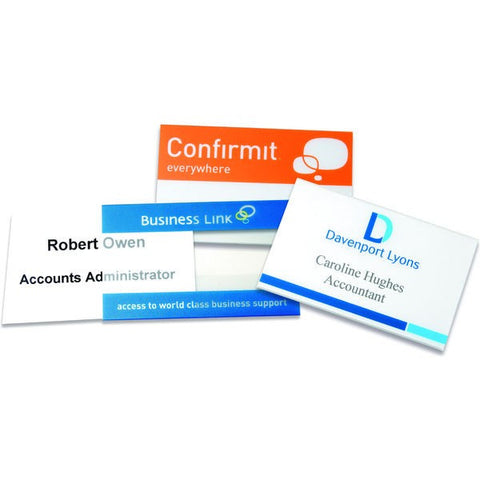clear pvc name badges | Adband