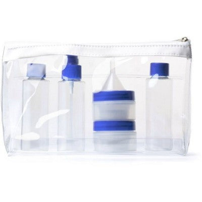 clear travel toiletry bags | Adband