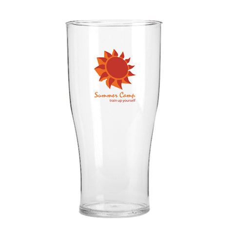 20oz Tulip Reusable Plastic Pint Glasses