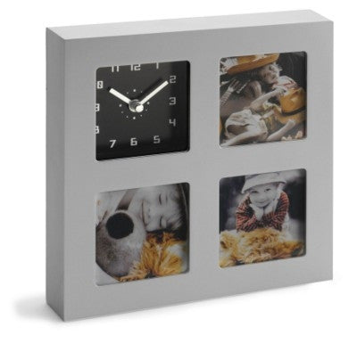clock and photo holders | Adband