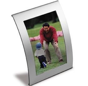 curved metal photo frames | Adband