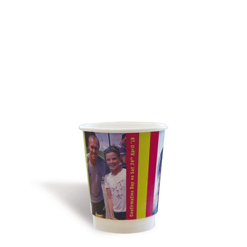 double wall branded paper cups | Adband