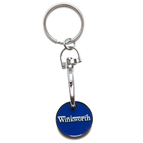 trolley coin keyrings | Adband