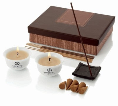 earth incense and candle set | Adband