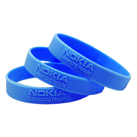 embossed silicone wristbands | Adband
