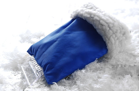 fleece glove ice scrapers | Adband