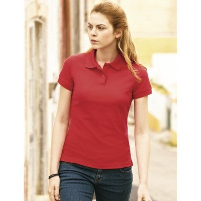 fruit of the loom lady fit polo shirts | Adband