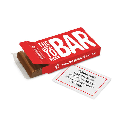 6 Baton Box - Chocolate Bar