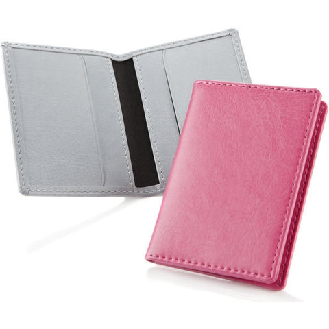 hampton leather card wallets | Adband