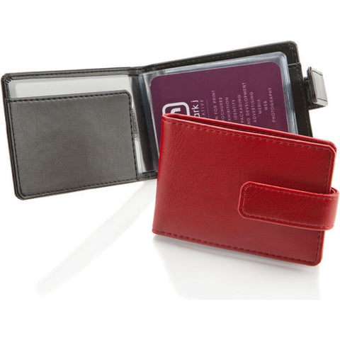 hampton leather credit card wallet | Adband