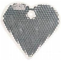 heart shaped reflectors | Adband
