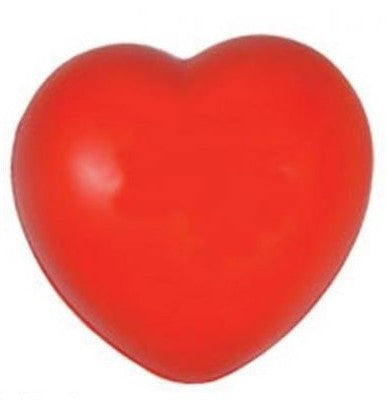love heart stress balls | Adband