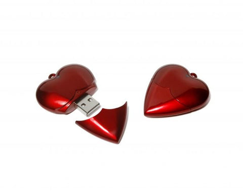 heart usb flashdrive | Adband