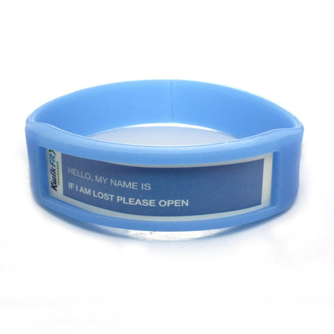silicone wristbands with window | Adband