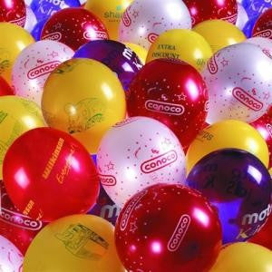 latex laseround advertising balloons | Adband