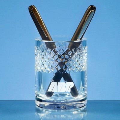 lead crystal glass pen holders | Adband