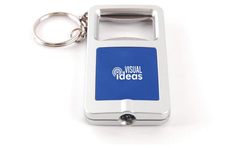 led bottle opener keyrings | Adband