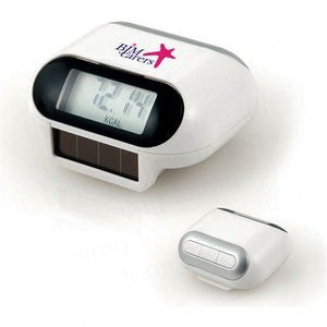 solar powered pedometer | Adband