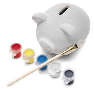 plaster piggy bank | Adband