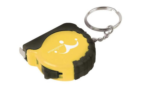 plastic tape measure keyrings | Adband