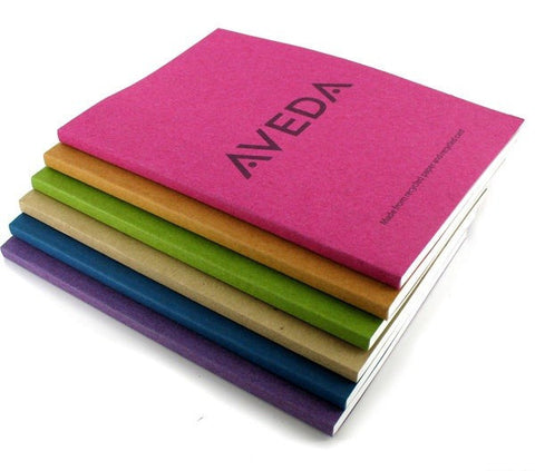 recycled perfect bound notepads | Adband