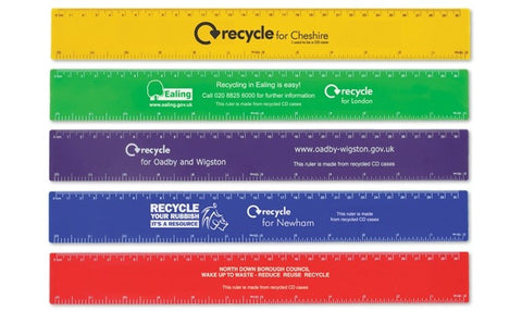 recycled rulers | Adband