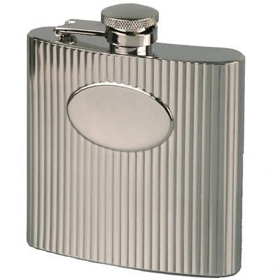 ribbed hip flasks | Adband
