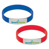 silicone wristbands with metal clip | Adband