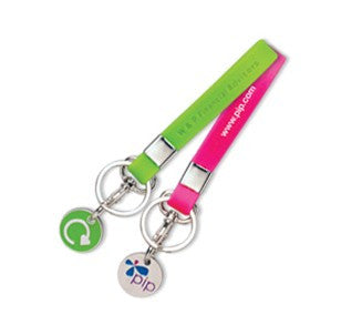 silicone trolley token keyrings | Adband