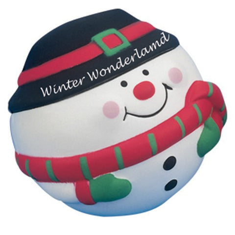 snowman stress toy | Adband