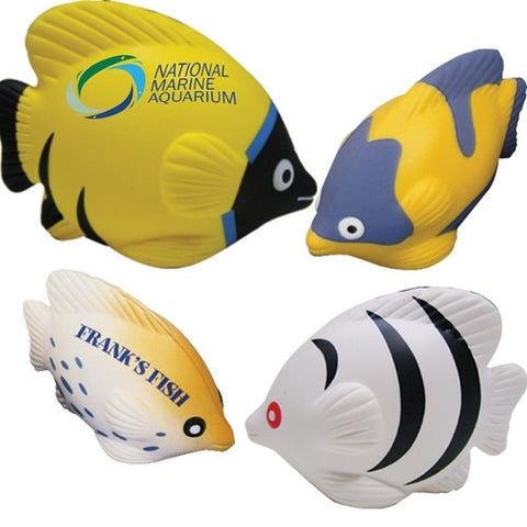 tropical fish stress balls | Adband