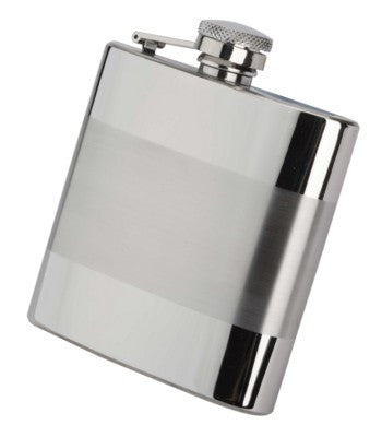 two tone hip flasks | Adband