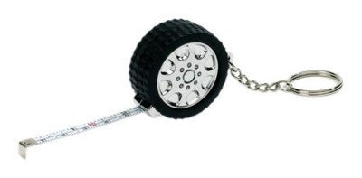 tyre tape measure keyrings | Adband