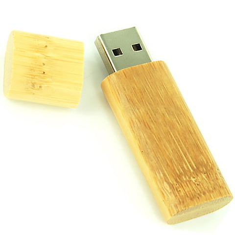 USB Bamboo Eco Flashdrive