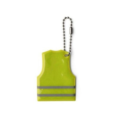 vest shaped reflective key ring | Adband
