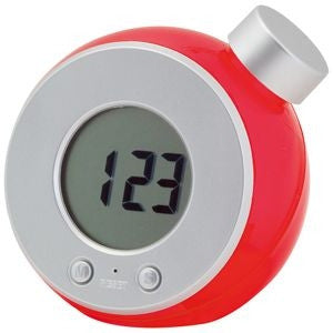 lcd water powered desk clock | Adband