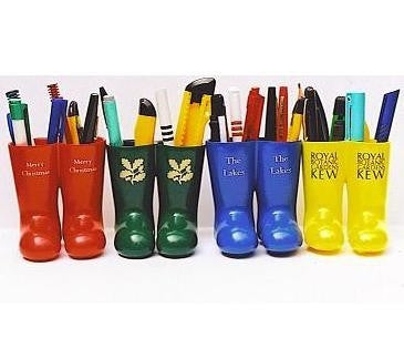 welly wellington boot pen pots | Adband