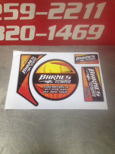 ENGINE DECAL KIT